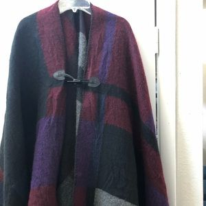 Steve Madden Toggle Front Cape